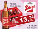 Getränkehaus Krause & Vinothek Weinblatt Stiegl Weisse - bis 29.02.2020