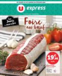 U Express LES JOURS DU MARCHÉ FOIRE AU BOEUF - au 08.02.2020