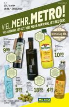 METRO Flugblatt -Essig & Öl - 13.2. bis 19.2.