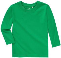 Jungen Langarmshirt in Grün