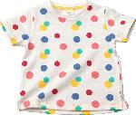 dm-drogerie markt ALANA Kinder Shirt, Gr. 98, in Bio-Baumwolle, weiß, bunt