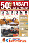 Möbelstadt Sommerlad 50% Rabatt auf 90 Polster - bis 15.02.2020