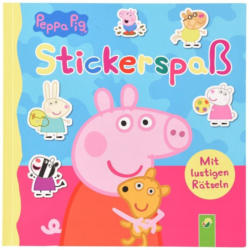 Peppa Pig Rätselbuch mit Stickern