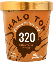 Halo Top Peanut Butter Cup Eis
