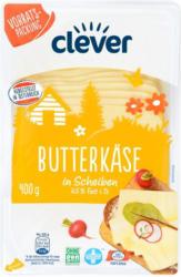 Clever Butterkäse in Scheiben