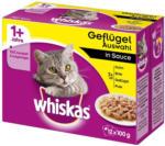 BILLA Whiskas Frischebeutel 12-Pack Geflügel Auswahl in Sauce 1+