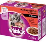 BILLA Whiskas Klassische Auswahl in Sauce Junior