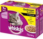 BILLA Whiskas Frischebeutel 12-Pack  Geflügel Auswahl in Sauce 7+