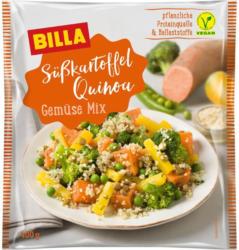 BILLA Süßkartoffel Quinoa Gemüse Mix