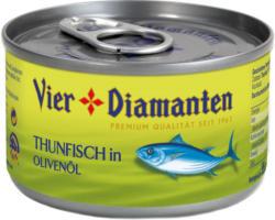Vier Diamanten Thunfisch in Olivenöl
