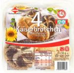 BILLA Sinnack Kaiserbrötchen Mohn-Sesam-Mix zum Fertigbacken