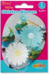 BILLA Decocino Oblaten-Blumen Blau & Weiß