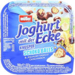 BILLA Müller Joghurt mit der Ecke Vanille mit Schoko-Balls