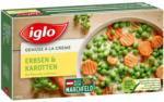 BILLA Iglo Gemüse à la Crème Erbsen & Karotten