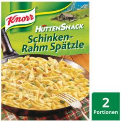 Knorr Hüttensnack Schinken-Rahm Spätzle
