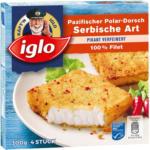 BILLA Iglo Pazifischer Polar-Dorsch Serbische Art