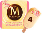 BILLA Eskimo Magnum Strawberry White
