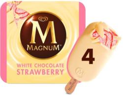 Eskimo Magnum Strawberry White
