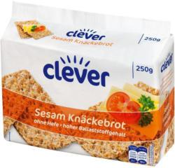 Clever Sesam Knäckebrot