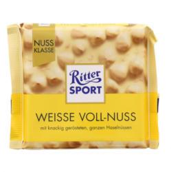 Ritter Sport Weiße Voll Nuss