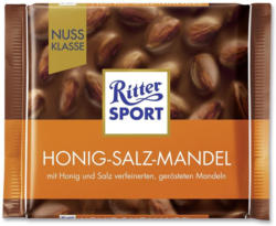 Ritter Sport Nuss-Klasse Honig Salz Mandel