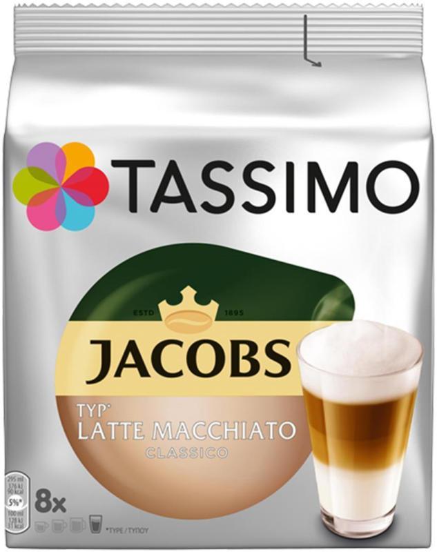 Jacobs Tassimo Latte Macchiatto
