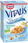 BILLA Dr. Oetker Vitalis Weniger Süß Knusper Pur Müsli