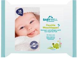 Babywell Feuchte Waschlappen
