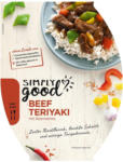 BILLA Simply Good Beef Teriyaki