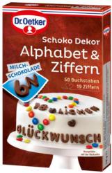 Dr. Oetker Schoko Alphabet & Ziffern