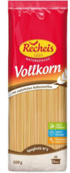 Recheis Vollkorn Spaghetti