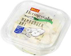BILLA Heringssalat Hamburger Art