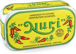 Nuri Sardinen scharf gewürzt in Olivenöl