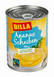 BILLA Ananas Scheiben