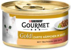 Gourmet Gold Zarte Häppchen mit Truthahn und Ente