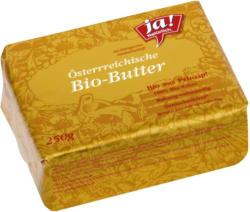 Ja! Natürlich Bio-Butter