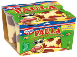 Dr. Oetker Paula Vanille Pudding mit Schokoflecken