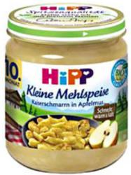 Hipp Kleine Mehlspeise Kaiserschmarn in Apfelmus