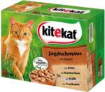 BILLA Kitekat Frischebeutel 12-Pack Jagdschmaus in Sauce