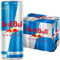 Red Bull Sugarfree, Energy Drink 6-Pack