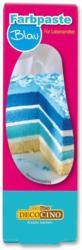 Decocino Lebensmittelfarbpaste Blau