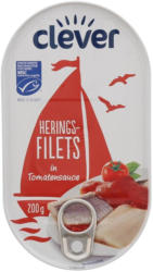 Clever Heringsfilets in Tomatensauce