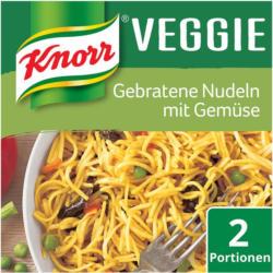 Knorr Veggie Gebratene Nudeln mit Gemüse