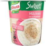 BILLA Knorr Sweety Snack Becher Milchreis