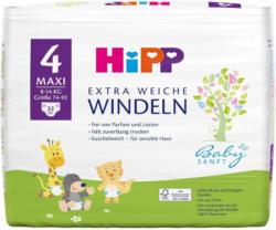 Hipp Windeln Gr. 4 Maxi