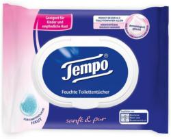Tempo Feuchte Toilettentücher Sanft & Pur