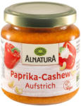 BILLA Alnatura Paprika-Cashew Brotaufstrich