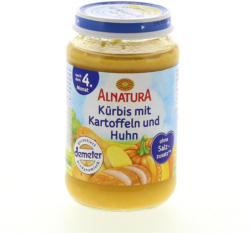 Alnatura Kürbis mit Kartoffel & Huhn
