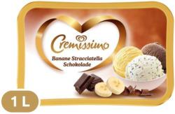 Eskimo Cremissimo Banane, Stracciatella & Schokolade
