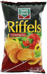 Funny Frisch Riffels Chips Chili & Paprika